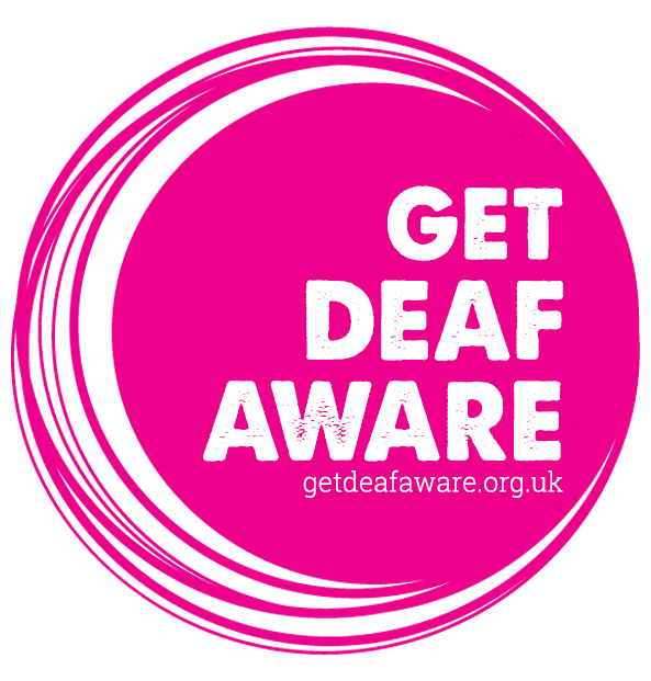 Get Deaf Aware Logo
